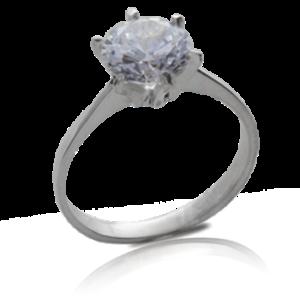 a4df6dc8a657 codigo 1872  anillo solitario plata 950